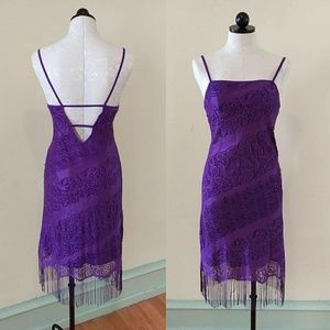 Dresses & Skirts - Purple Lace Dress